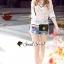 เสื้อผ้าเกาหลี พร้อมส่ง เสื้อทรงเก๋แนวสาวสปอร์ต thumbnail 2