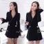 เสื้อผ้าเกาหลี พร้อมส่งCC Luxury Diamond Jacket thumbnail 1