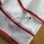 เสื้อผ้าเกาหลี พร้อมส่งเชิ้ตเดรสปักลายตกแต่งขอบสีแดงสไตล์เฟมอนีนสุดชิค thumbnail 6