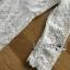 ชุดเดรสเกาหลี พร้อมส่งเดรสผ้าลูกไม้สีขาวตกแต่งระบายสุดหรู thumbnail 13