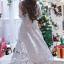 ชุดเดรสเกาหลี พร้อมส่งLong Dress -งดงาม สวยหรูและดูแพงมาก thumbnail 4