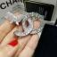 พร้อมส่ง Butterfly Brooch Chanel ผีเสื้อ งานเพชรCZแท้ thumbnail 3