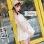 เสื้อผ้าเกาหลีพร้อมส่ง เสื้อตัวยาวจั๊มใต้อก thumbnail 10