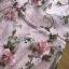 ชุดเดรสเกาหลี พร้อมส่งเดรสผ้าทูลเลปักดอกไม้กุหลาบสีชมพูทับลูกไม้สีชมพู thumbnail 15