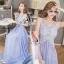 Alice Hollow lace Sleeveless Maxi Dress thumbnail 3