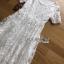 ชุดเดรสเกาหลี พร้อมส่งเดรสยาวผ้าลูกไม้สีขาวสไตล์ลำลอง thumbnail 13
