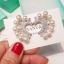 พร้อมส่ง Diamond with Pearl earring ต่างหูเพชรฝังแท้ thumbnail 1
