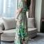 ชุดเดรสเกาหลี พร้อมส่งเดรสผ้าชีฟองหลากสีโทนสีเขียวขี้ม้า thumbnail 4