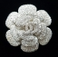 พร้อมส่ง diamond Camelia chanel เข็มกลัดชาแนล ทรงดอกคาเมเลีย ฝังเพชรสวิสแท้ thumbnail 3