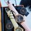 พร้อมส่ง Stuhrling Original Women's Vogue Audrey Isis Swiss Quartz Swarovski Crystal Date Pink Watch thumbnail 3