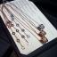 พร้อมส่ง Diamond Bvlgari Necklace สร้อยคอบูการี่เพชรฝังCZ8Aรอบ งาน1:1 thumbnail 1