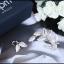 พร้อมส่ง APM Diamond Earring งานเพชร CZ แท้ thumbnail 4