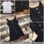 เสื้อผ้าแฟชั่น พร้อมส่งเซทเสื้อยืดขาว+เอี๊ยมกระโปรงยีนส์ดำชายลุ่ยยาวไม่เท่า thumbnail 3