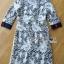 เสื้อผ้าเกาหลี พร้อมส่งเชิ้ตเดรสผ้าลูกไม้ทับผ้าโพลีเอสเตอร์ประดับกระดุม thumbnail 13