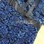 ชุดเดรสเกาหลี พร้อมส่งเดรสเปิดไหล่ผ้าลูกไม้สีน้ำเงินเข้มตกแต่งริบบิ้นสีดำ thumbnail 14