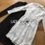 เสื้อผ้าเกาหลี พร้อมส่งเชิ้ตเดรสผ้าลูกไม้สไตล์คลาสสิก thumbnail 17