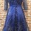 ชุดเดรสเกาหลี พร้อมส่งGalaxy Diamond Luxury Dress thumbnail 11