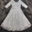 ชุดเดรสเกาหลี พร้อมส่งLong Dress -งดงาม สวยหรูและดูแพงมาก thumbnail 10