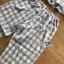 เสื้อผ้าเกาหลี พร้อมส่งเซ็ตชุดนอนผ้าคอตตอนลายตารางสีพาสเทล thumbnail 15