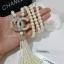 พร้อมส่ง Chanel Pearl Necklace รุ่นนี้เป็นงาน มุกญี่ปุ่นเกรดดีมาก thumbnail 4