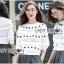 เสื้อผ้าเกาหลี พร้อมส่งจัมเป็นสีขาวตกแต่งผ้าลูกไม้โครเชต์ thumbnail 17