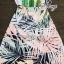 เสื้อผ้าเกาหลี พร้อมส่ง Set เสื้อกระโปรงลายชายทะเลโทนสีพาสเทล กระโปรงทรงเอพิมพ์ลายใบไม้สีสันแสนหวาน thumbnail 5