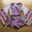 Issue Cassandra Colourful Printed Kimono Playsuit thumbnail 6