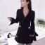 เสื้อผ้าเกาหลี พร้อมส่งCC Luxury Diamond Jacket thumbnail 9