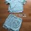 เสื้อผ้าเกาหลี พร้อมส่งเซ็ตเสื้อและกระโปรงผ้าลูกไม้สีเขียวมิ้น์สไตล์เฟมินีน thumbnail 9