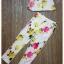 เสื้อผ้าเกาหลี พร้อมส่ง เซ็ทเสื้อ+กางเกง ตัวเสื้อใช้ผ้า 2 ชนิด กางเกง pattern สวยมาก thumbnail 8