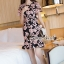 เสื้อผ้าเกาหลี พร้อมส่งSakura Pink Lace Netty Dress thumbnail 1