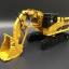 โมเดลรถก่อสร้างเหล็ก CAT 365C Front Shovel thumbnail 3