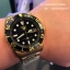 SEIKO SNZF22J1Seiko MINI Monster Automatic นาฬิกาข้อมือผู้ชาย สีดำทอง สายสแตนเลส thumbnail 9