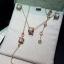 พร้อมส่ง Diamond Bvlgari Necklace สร้อยคอบูการี่เพชรฝังCZ8Aรอบ งาน1:1 thumbnail 9