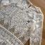 เสื้อผ้าเกาหลี พร้อมส่งเสื้อผ้าลูกไม้สีขาวซีทรูประดับชายพู่สไตล์เฟมินีน thumbnail 7