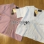 เสื้อผ้าเกาหลี พร้อมส่งเสื้อคอตตอนปักและฉลุลายสุดหวาน thumbnail 15