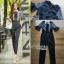 Babara Smart Casual Black & White Ruffle Lace Jumpsuit thumbnail 7