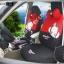 ชุดหุ้มเบาะลาย Monkey Mexi (สีดำ-แดง) thumbnail 2
