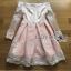 ชุดเดรสเกาหลี พร้อมส่งเดรสทรงเปิดไหล่ผ้าลูกไม้สีขาวทับผ้าสีชมพูโอลโรส thumbnail 15