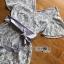 เสื้อผ้าแฟชั่น พร้อมส่งเพลสูทผ้าสีเทาอมฟ้า thumbnail 8