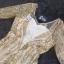 ชุดเดรสเกาหลี พร้อมส่งMorgan Luxury Golden Dress thumbnail 10