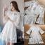 Isabelle Easy Sunday Feminine White Lace Dress thumbnail 6