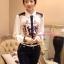 เสื้อผ้าเกาหลี พร้อมส่ง เสื้อเชิ้ต Versace เรียบหรู thumbnail 1