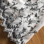 ชุดเดรสเกาหลี พร้อมส่งเดรสผ้าชีฟองสีขาวปักลายดอกไม้สีดำ thumbnail 18