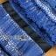 ชุดเดรสเกาหลี พร้อมส่งเดรสผ้าลูกไม้สีฟ้าตกแต่งโบสไตล์ Self-Portrait thumbnail 15
