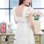 ชุดเดรสเกาหลี พร้อมส่งLuxury Lace Pricess Dress thumbnail 9
