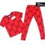 เสื้อผ้าแฟชั่นพร้อมส่ง แบรนด์ Gucci เสื้อ+กางเกงขายาว เข้ารูป thumbnail 4