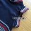 ชุดเดรสเกาหลีพร้อมส่ง เดรสผ้าคอตตอนปักลายสไตล์ชนเผ่า thumbnail 7