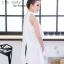 เสื้อผ้าแฟชั่นเกาหลีพร้อมส่ง เสื้อตัวยาวแขนกุด ผ้าZara เงาสวย thumbnail 6
