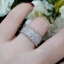 พร้อมส่ง แหวนปลอกมีดดอกหลุยส์ เพชรรอบวงนะคะ งานเพชร CZ แท้ thumbnail 5
